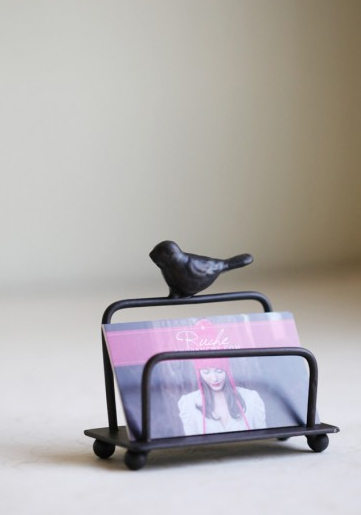 bird card holder