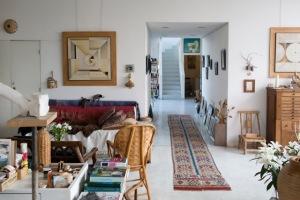 gisele interior artist home