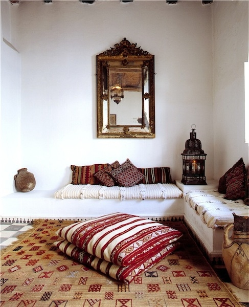 moroccan nook decor interior