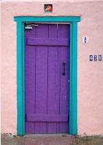 Purple_turquoise_door