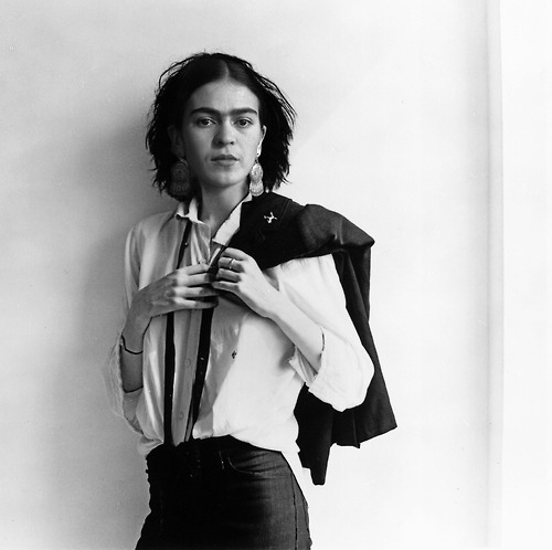 FridaKahlo as PattiSmith