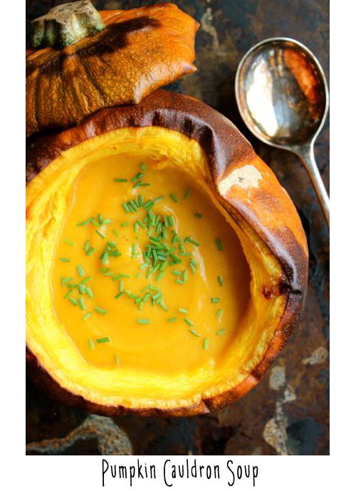 pumpkin cauldron soup copia