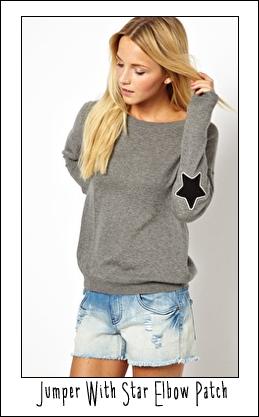 ASOS star jumper