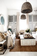 Rustic Style Living Room 1