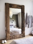 Rustic Style Mirror Frame