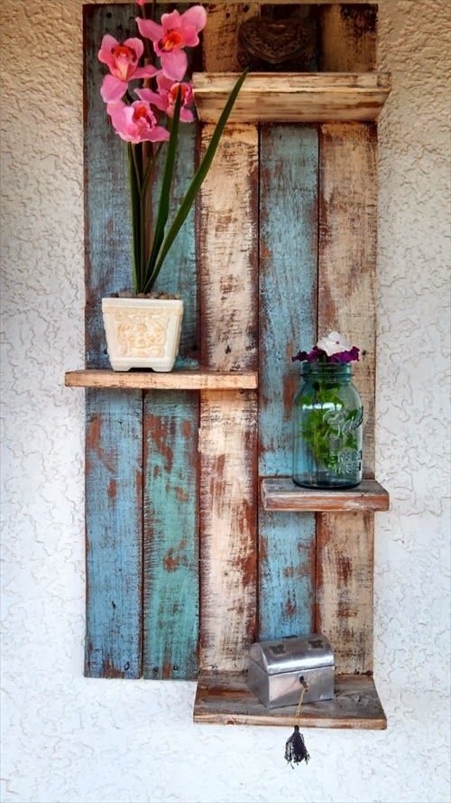Rustic Style Pallet