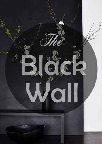 The black wall