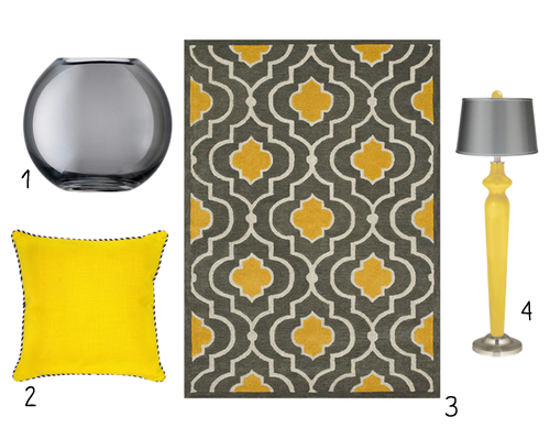 grey and yellow are a match made in heaven LIVELOVECREATEINSPIRE.co.uk