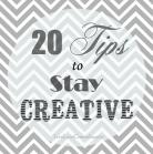 stay creative